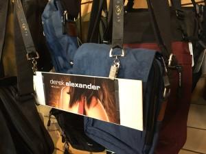 "From Calgary, ""DEREK ALEXANDER"" handbags are now in stock!"